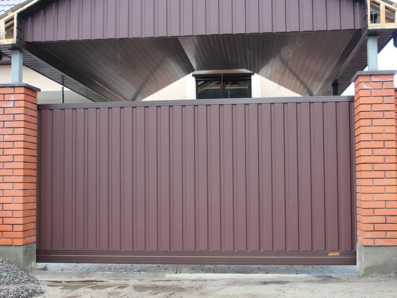 Алюминиевые раздвижные ворота ALV