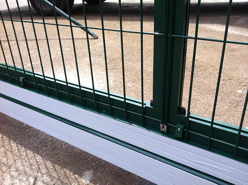ALV ворота из панельных ограждений