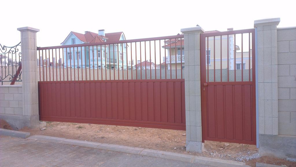 Ворота и калитка ALV