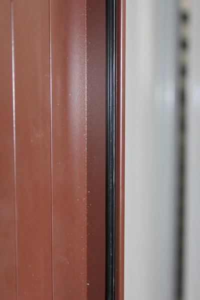 Притворный алюминиевый профиль для калиток и распашных ворот ALV
